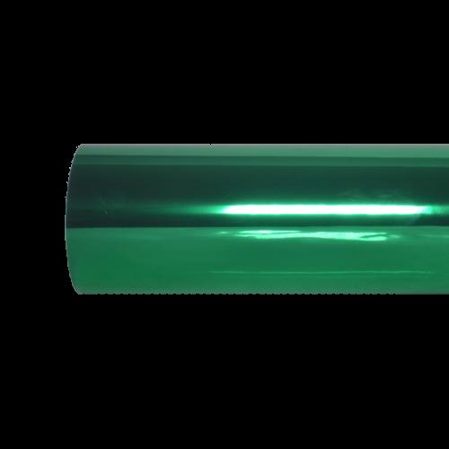 Metálico foil verde