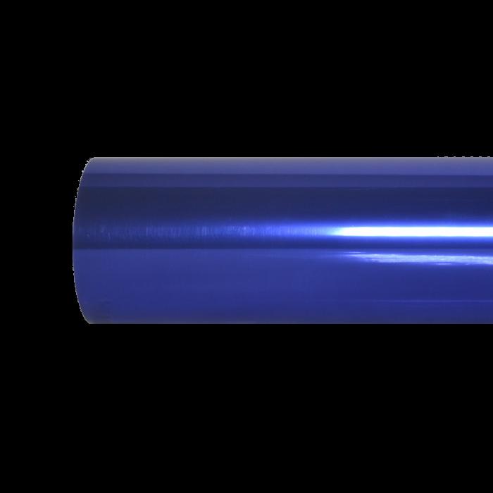 Metálico foil azul