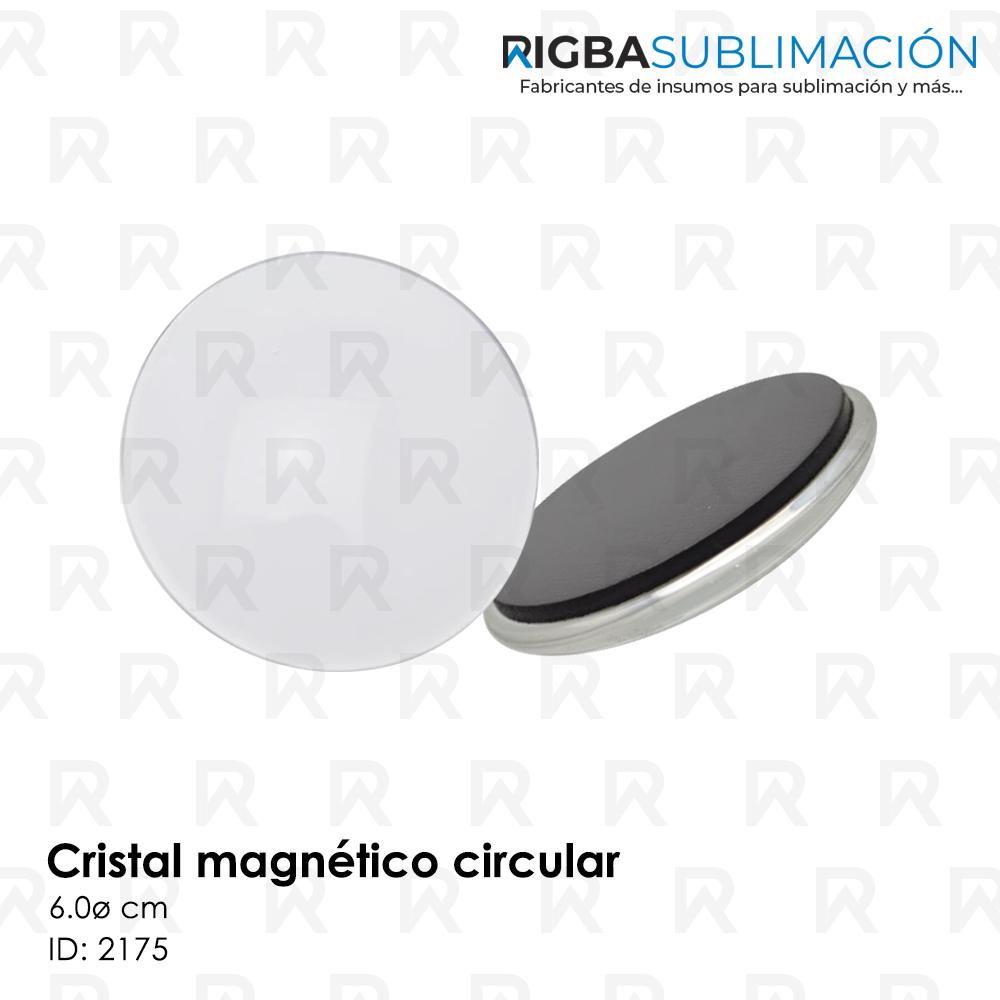 Cristal magnético para sublimación circular