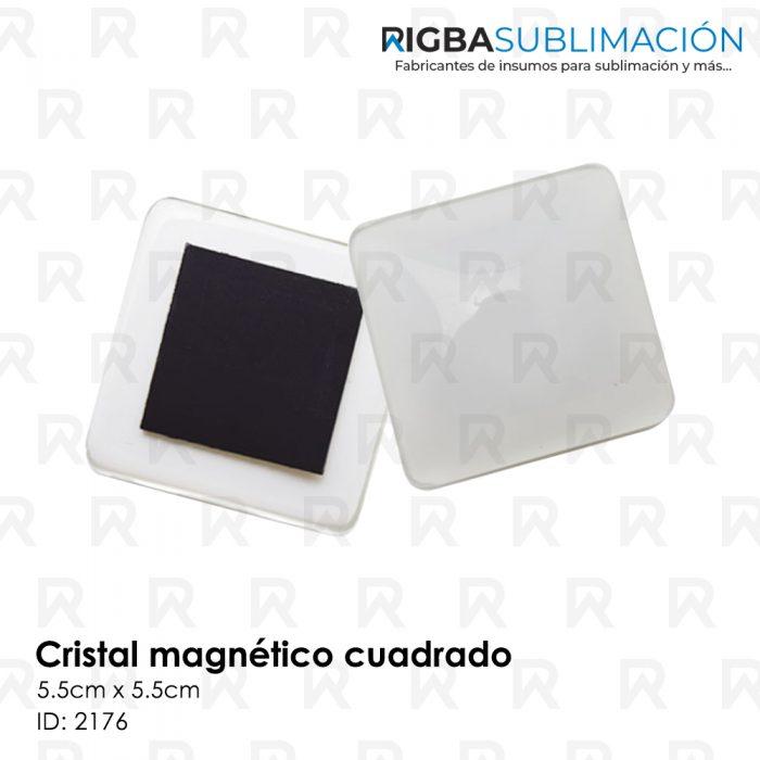 Cristal magnético para sublimar cuadrado