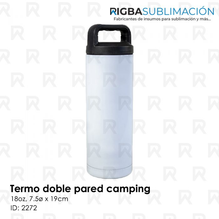 Termo camping para sublimación