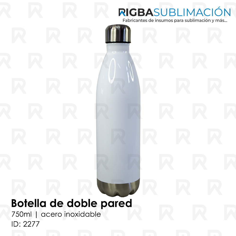 Botella de doble pared para sublimación