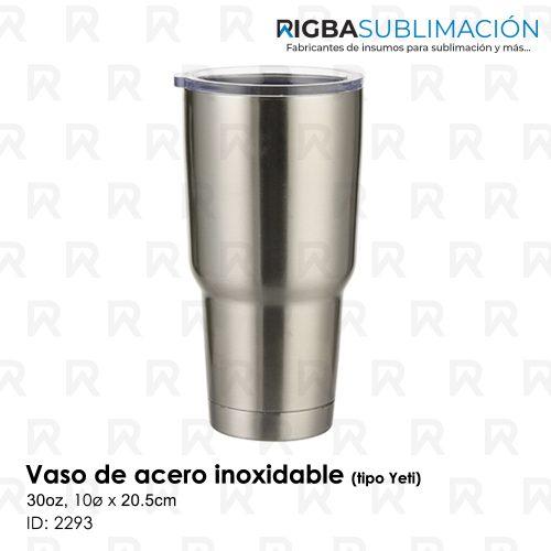 vaso de acero 30oz para sublimacion