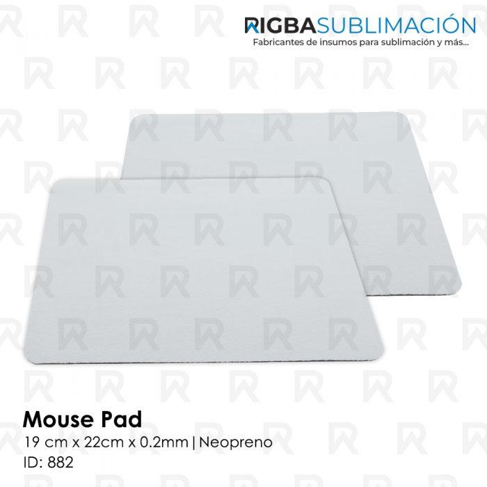 Mouse pad para sublimación