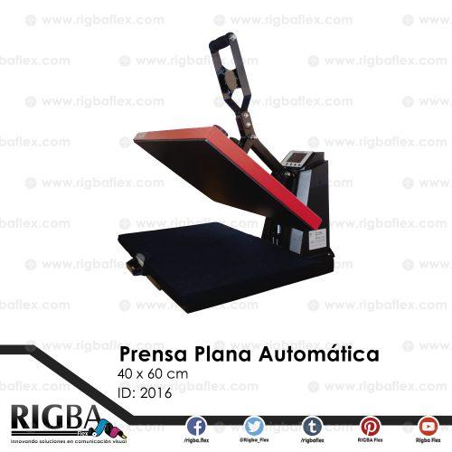 Prensa plana Automática de alta presión para sublimación 40cm x 60cm