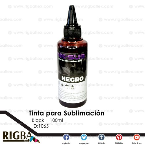 RIGBA ink Sublimation Black 100ml
