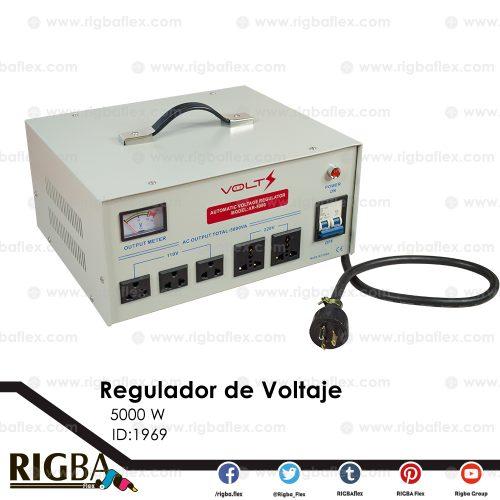 Regulador Automático de Voltaje de 5000 W marca Volt