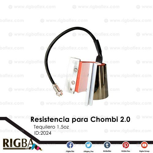 Resistencia de tequilero 1.5oz Chombi 2.0