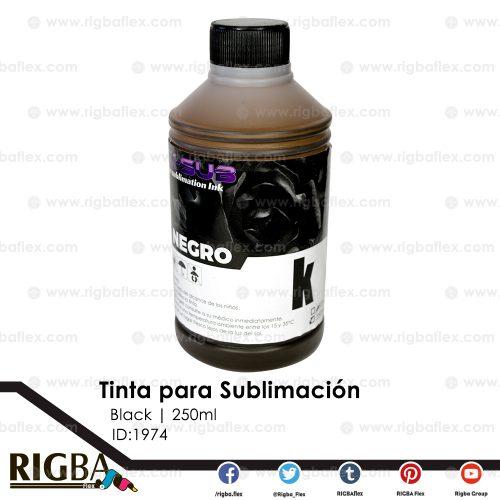 Tinta para Sublimación Negro 250ml