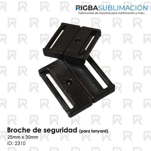 broche de seguridad