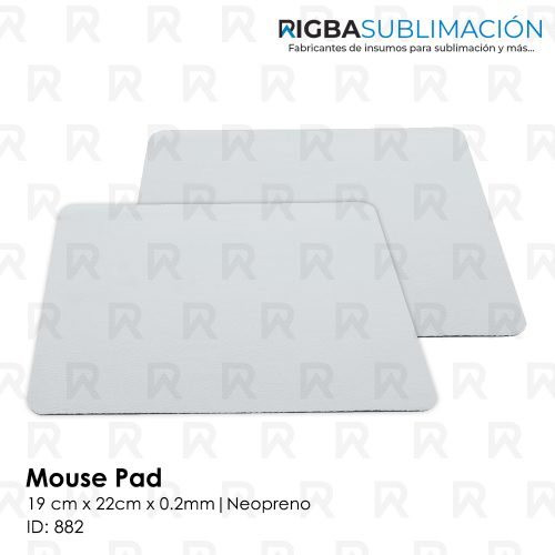 mouse pad neopreno